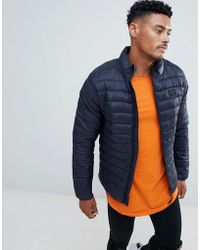 Blend - Quilted Jacket - Lyst