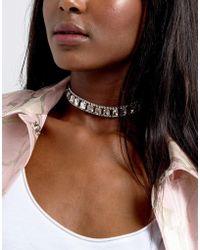 Coast - Luna Statement Choker Necklace - Lyst