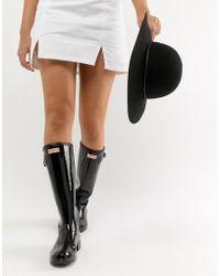 HUNTER - Original Tour Gloss Wellington Boot - Lyst