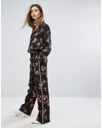 Gestuz - Flower Printed Trousers - Lyst