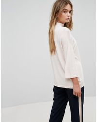 SELECTED - High Neck Sweater - Lyst
