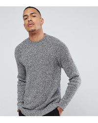 SELECTED - Knitted Jumper With High Neck - Lyst