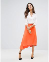 Warehouse | Asymmetric Skirt. | Lyst