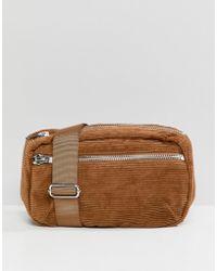 Weekday - Cord Zip Body Bag - Lyst