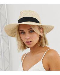 ALDO - Panama Straw Hat - Lyst