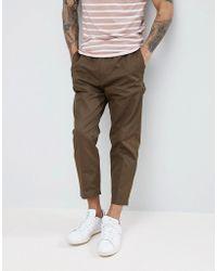 HUGO | Cargo Trousers In Khaki | Lyst