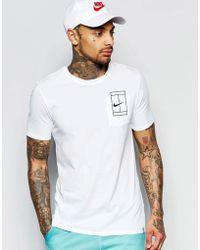 nike shox pour les tout-petits garçons - Nike Futura T-shirt In White 696707-103 in White for Men | Lyst