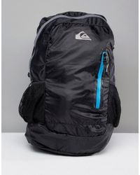 Quiksilver - Octo Packable Backpack In Black - Lyst