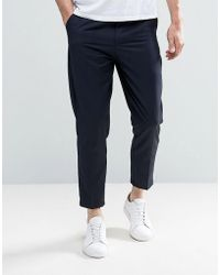 Only & Sons - Cropped Trouser - Lyst