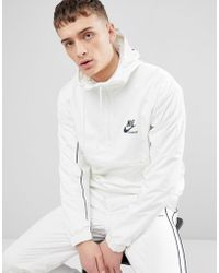 Nike - Archive Woven Jacket In White 941877-133 - Lyst