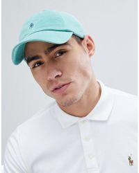 Polo Ralph Lauren - Player Logo Weathered Mesh Baseball Cap In Green - Lyst