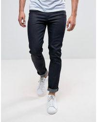 Cheap Monday - Sonic Slim Jeans In Dark Blue - Lyst