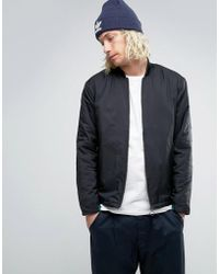 adidas Originals - Berlin Pack Eqt Bomber Jacket In Black Bk2182 - Lyst