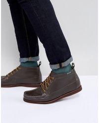 Eastland - Seneca Leather Boots In Dark Brown - Lyst
