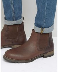 611b498f89f10f Lyst - Red Tape Brogue Boots in Brown for Men