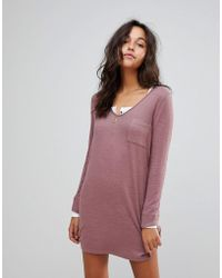 Abercrombie & Fitch - Cosy Dress - Lyst