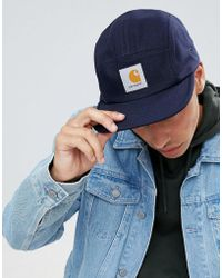 Carhartt Wip X Starter Snapback Cap Walker in Blue for Men - Lyst b95cdf77eebf