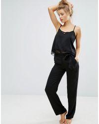 Undiz - Hightowiz Slinky Pyjama Bottom - Lyst
