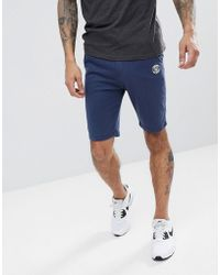 Blend - Jersey Shorts In Navy - Lyst