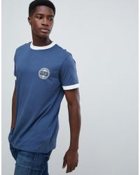 New Look - T-shirt With Nyc Print In Blue - Lyst
