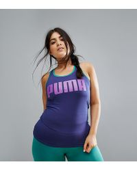 PUMA - Exclusive To Asos Plus Active Tank - Lyst