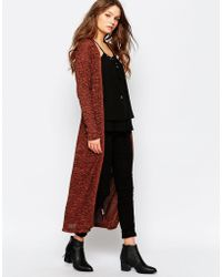 First & I - First And I Navia Long Knit Cardigan - Lyst