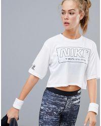 589489c3 Nike Black Just Do It Logo Crewneck T-shirt in Black - Lyst