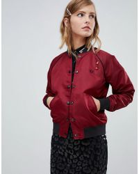 Fred Perry - X Amy Winehouse Foundation Reversable Bomber Jacket - Lyst