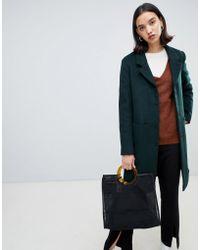 SELECTED - Wool Coat - Lyst