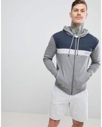 BOSS - Bodywear Zip-thru Jacket With Hood - Lyst