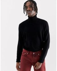 Weekday - Trey Turtleneck Black - Lyst