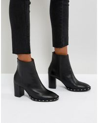 AllSaints   Studded Ankle Boots   Lyst