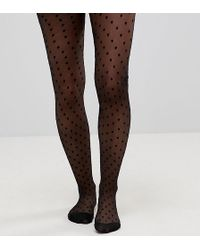 ASOS - Asos Design Maternity Medium Polka Dot Tights - Lyst