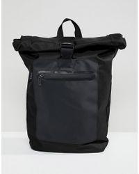 Ben Sherman - Roll Top Backpack - Lyst