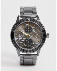 Steve Madden - Mens Chronograph Watch With Black Dial - Lyst
