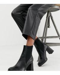 Stradivarius - Heeled Boots In Black - Lyst