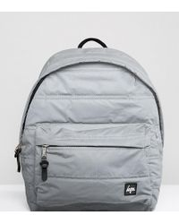 Hype - Exclusive Reflective Padded Backpack - Lyst