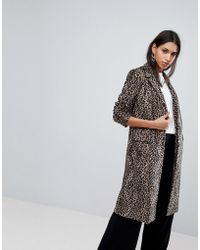 Helene Berman - Leopard Print University Coat - Lyst