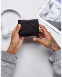 Forbes & Lewis | Leather Billfold Wallet In Black | Lyst