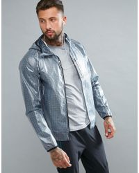 Saucony | Running Exo Running Jacket In Gray Sam800015-fsp | Lyst