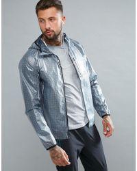 Saucony - Running Exo Running Jacket In Grey Sam800015-fsp - Lyst