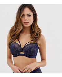 ASOS - Fuller Bust Exclusive Lace High Apex Underwire Bra - Lyst