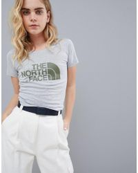 The North Face - Women's Easy T-shirt In Grey - Lyst