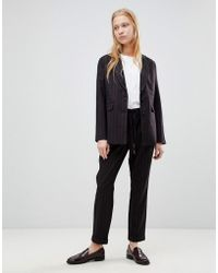B.Young - Stripe Suit Trousers - Lyst