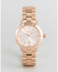 Vivienne Westwood - Vv152rsrs Bracelet Watch In Rose Gold - Lyst