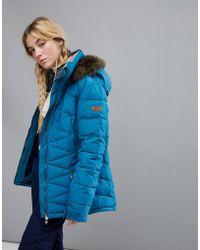 Roxy - Quinn Ski Jacket In Blue - Lyst