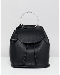 Glamorous - Black Backpack - Lyst