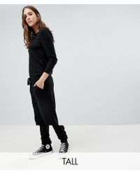 Noisy May Tall - Long Sleeve Jumpsuit - Lyst