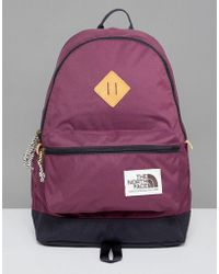 The North Face - Berkeley Backpack 25 Litres In Burgundy - Lyst