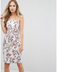 Forever New - Corset Dress With Lace Up Front - Lyst